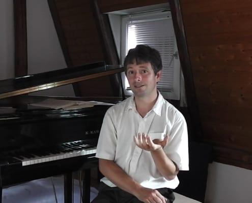 Pianist spricht über Musik