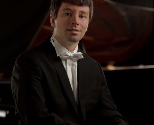 Daniel Fritzen am Klavier