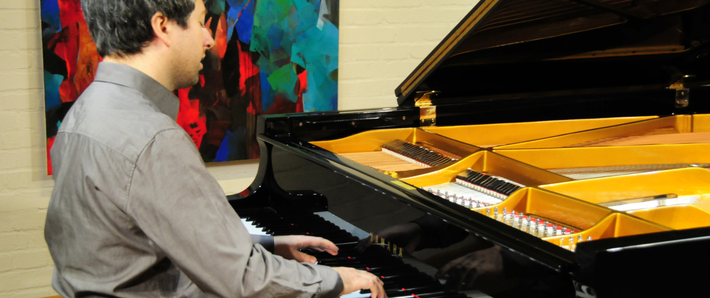 Pianist Daniel Fritzen in der Bildergalerie