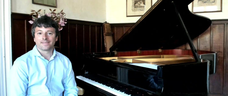 Pianist Daniel Fritzen auf Kultur Gut Dönkendorf
