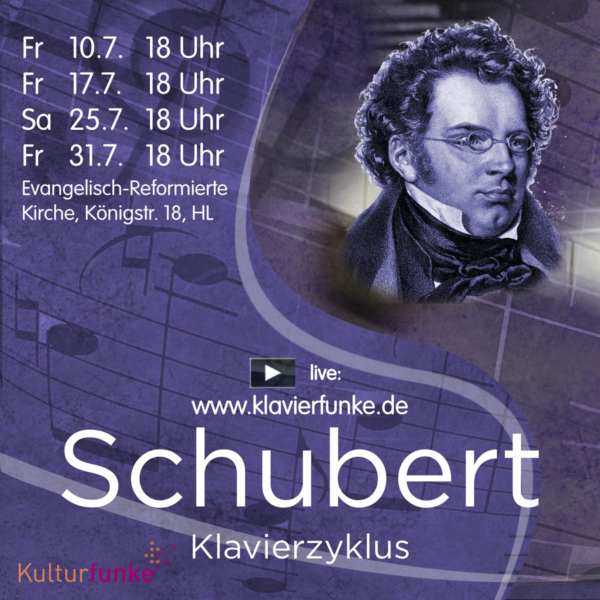 Onlin-Ticket Schubert-Zyklus